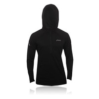 ASICS SOUKAI Half-Zip Long Sleeve Hooded Running Top