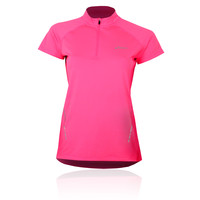 ASICS HALF ZIP Women's Running T-Shirt