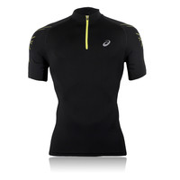 Asics IM Half-Zip Short Sleeve T-Shirt