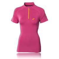 ASICS SPEED Women's Half Zip Short Sleeve Running T-Shirt