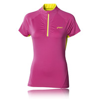 ASICS Mile Short Sleeve Half Zip Women's Running T-Shirt