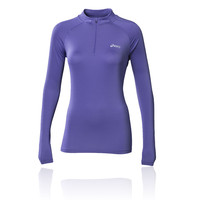 ASICS HALF ZIP Women's Long Sleeve Running Top
