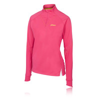 ASICS FUJI Women's 1/2 Zip Long Sleeve Running Top