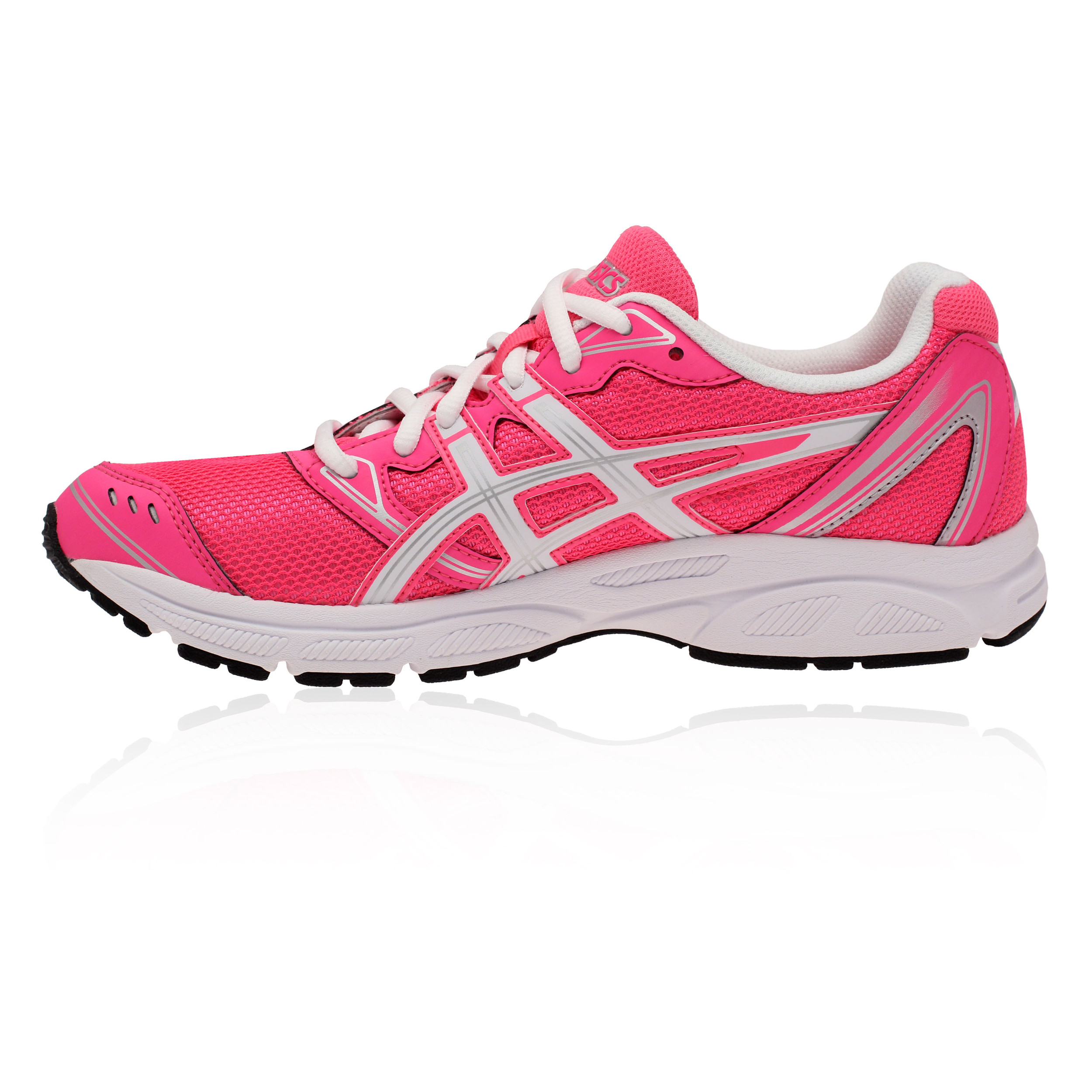 asics patriot 6 womens pink white lightweight cushioned