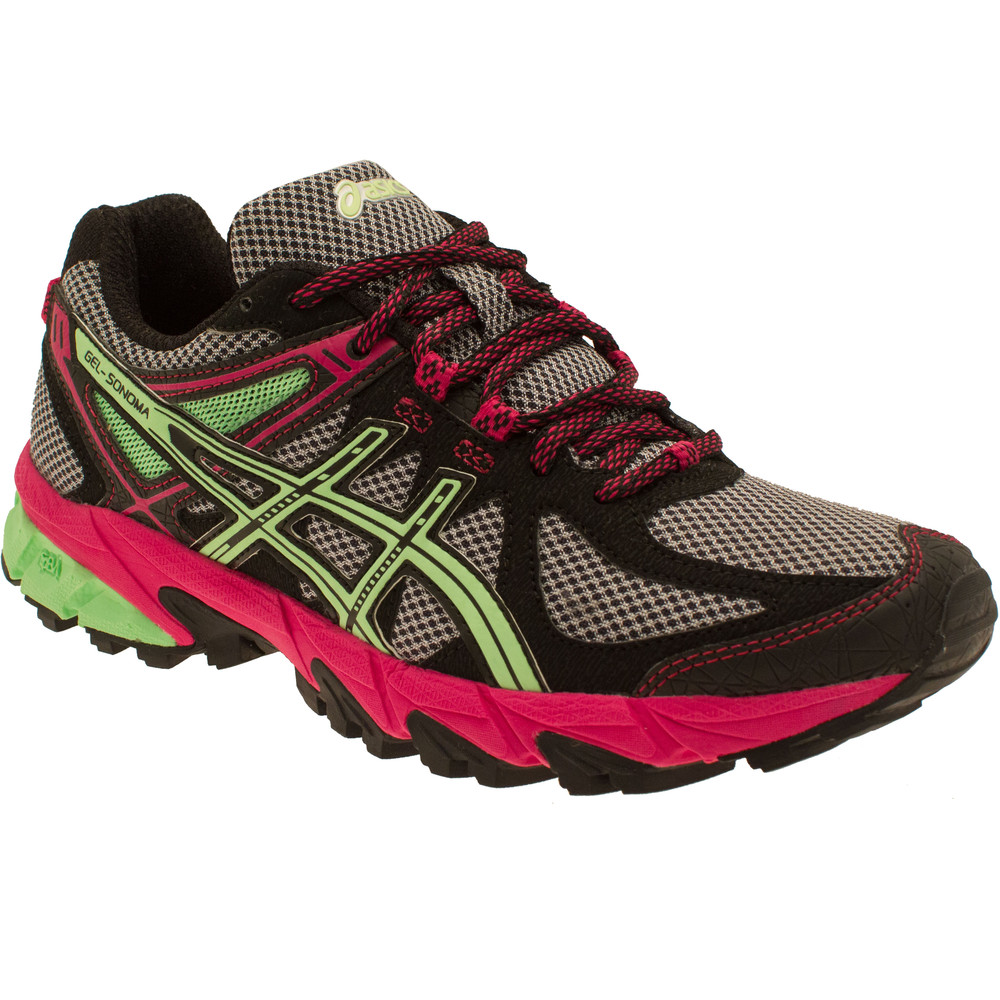 asics gel sonoma s trail running shoes aw15 43