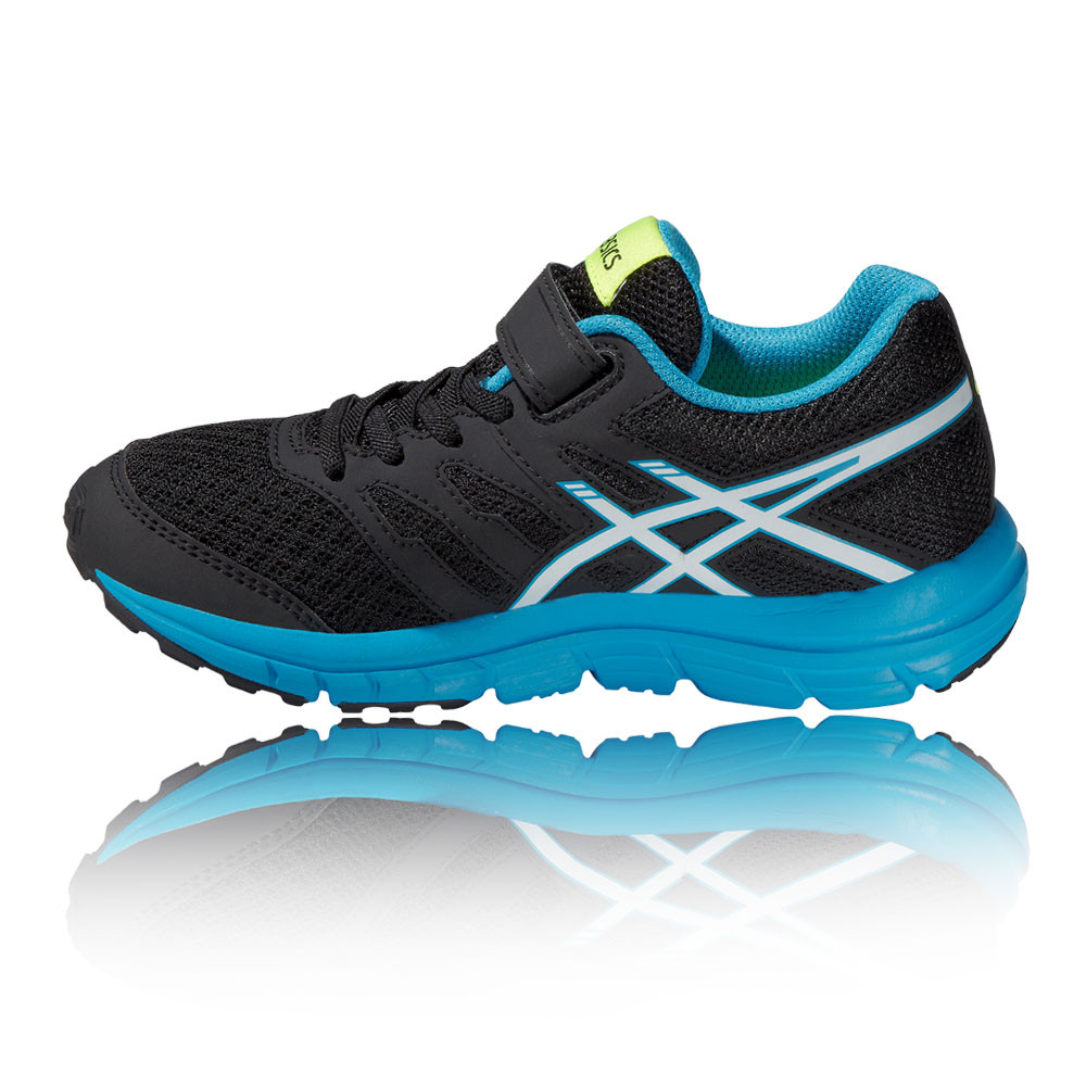 asics junior negro