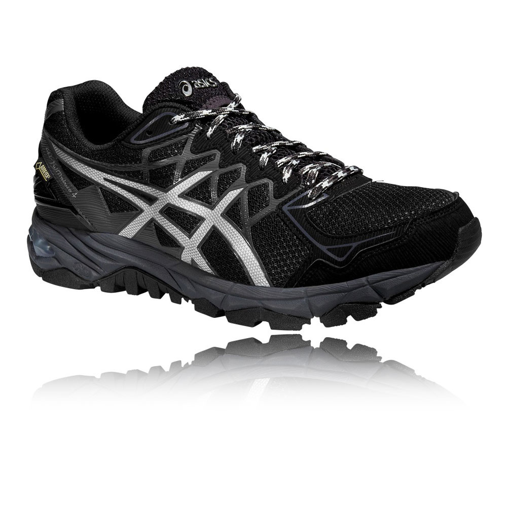 asics gel fujitrabuco 4 homme noir gore tex trail running chaussures baskets ebay. Black Bedroom Furniture Sets. Home Design Ideas