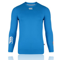 Canterbury Cold England Rugby Supporters Long Sleeve Compression Running Top