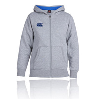 Canterbury Junior Full Zip Hooded Top