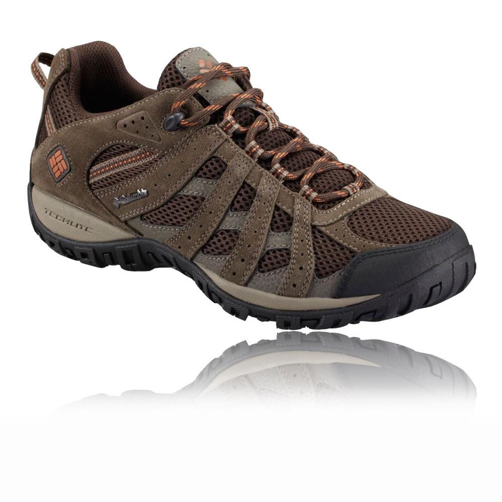 columbia redmond sport sneakers mens brown techlite