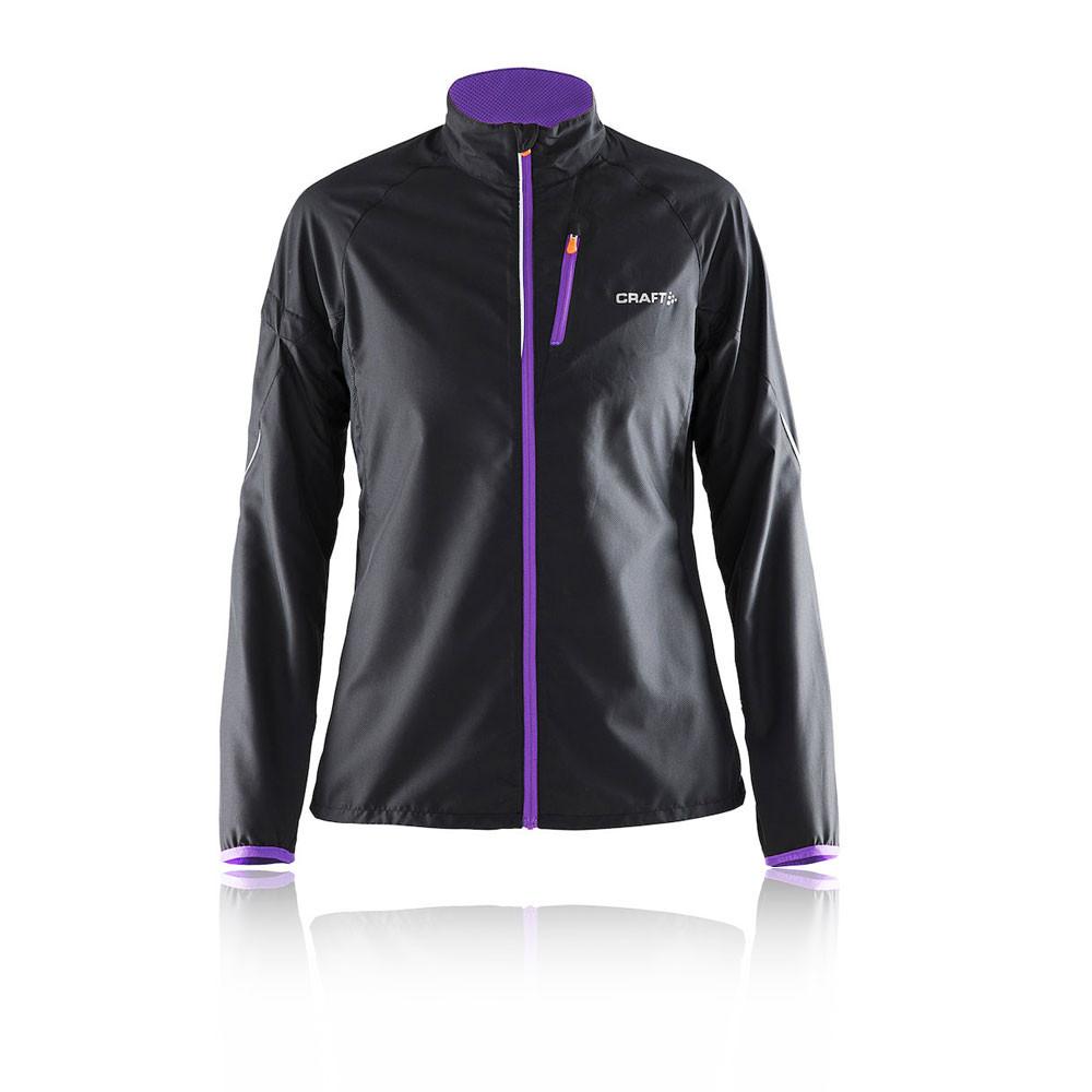 Craft devotion women 39 s running jacket ss15 for Craft women s run
