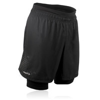 Craft P Hybrid 2-in-1 Running Shorts