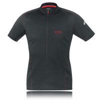 Gore Magnitude 2.0 Zip Short Sleeve Running T-Shirt