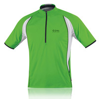 Gore Air Half-Zip Short Sleeve T-Shirt