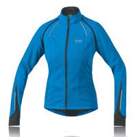 Gore Lady Phantom 2.0 Windstopper Soft Shell Convertible Cycling Jacket