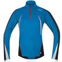 Gore Air Thermo Half Zip Long Sleeve Running Top