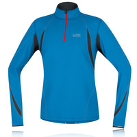 Gore Air Half Zip Long Sleeved Running Top