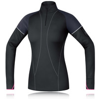 Gore Air Thermo Women's Half Zip Long Sleeve Running Top