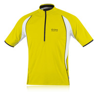 Gore Air Half Zip Short Sleeve Running T-Shirt