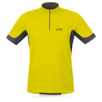 Gore X-Running 2.0 Half-Zip Short Sleeve Running T-Shirt