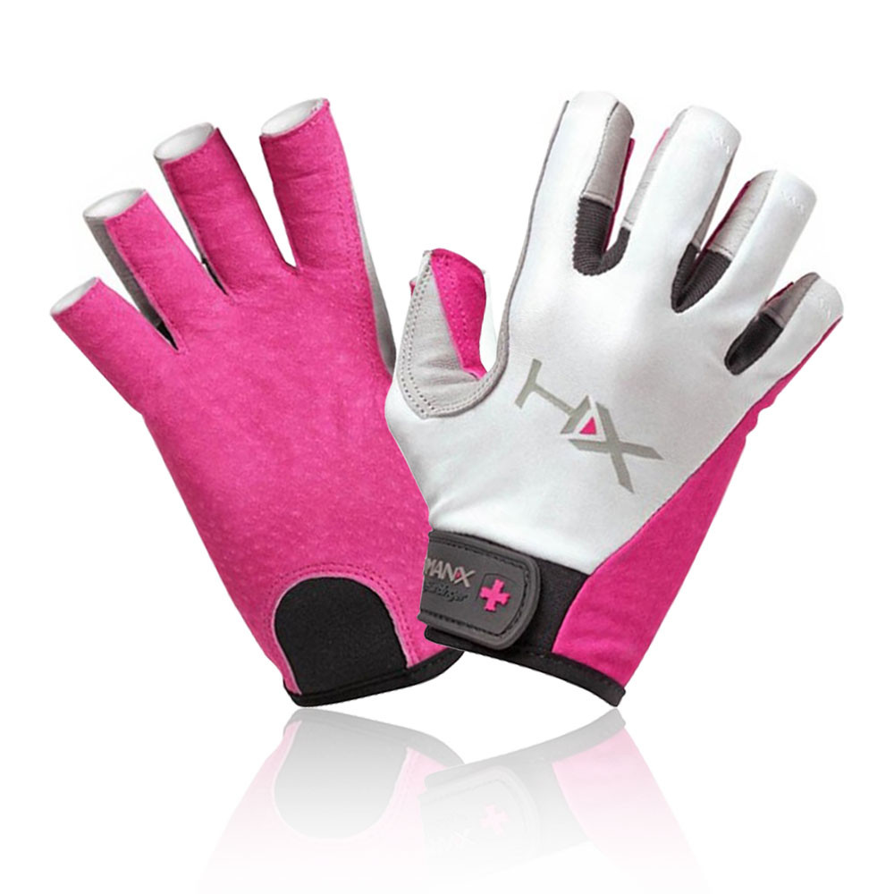 Harbinger X3 Competition Womens White Pink 3 4 Finger