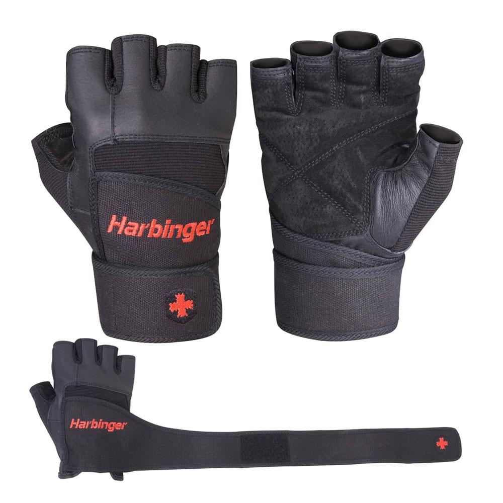 Sport Gloves For Gym: Harbinger Pro Unisex Black Weightlifting Training Sports
