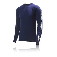 Helly Hansen Stripe Crew Neck Long Sleeve Baselayer Top