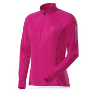 Haglofs Lady Puls Q Half-Zip Long Sleeve Running Top