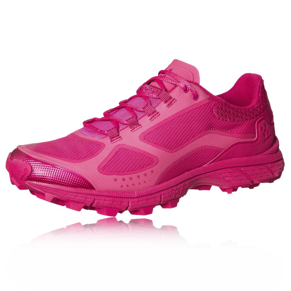haglofs gram comp q womens pink sneakers trail running