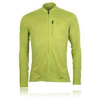 Haglofs Scramble Long Sleeve Half Zip Running Top