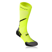 Hilly Vivid Night Compression Running Socks