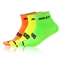 Hilly Lite Anklet Triple Pack Running Socks