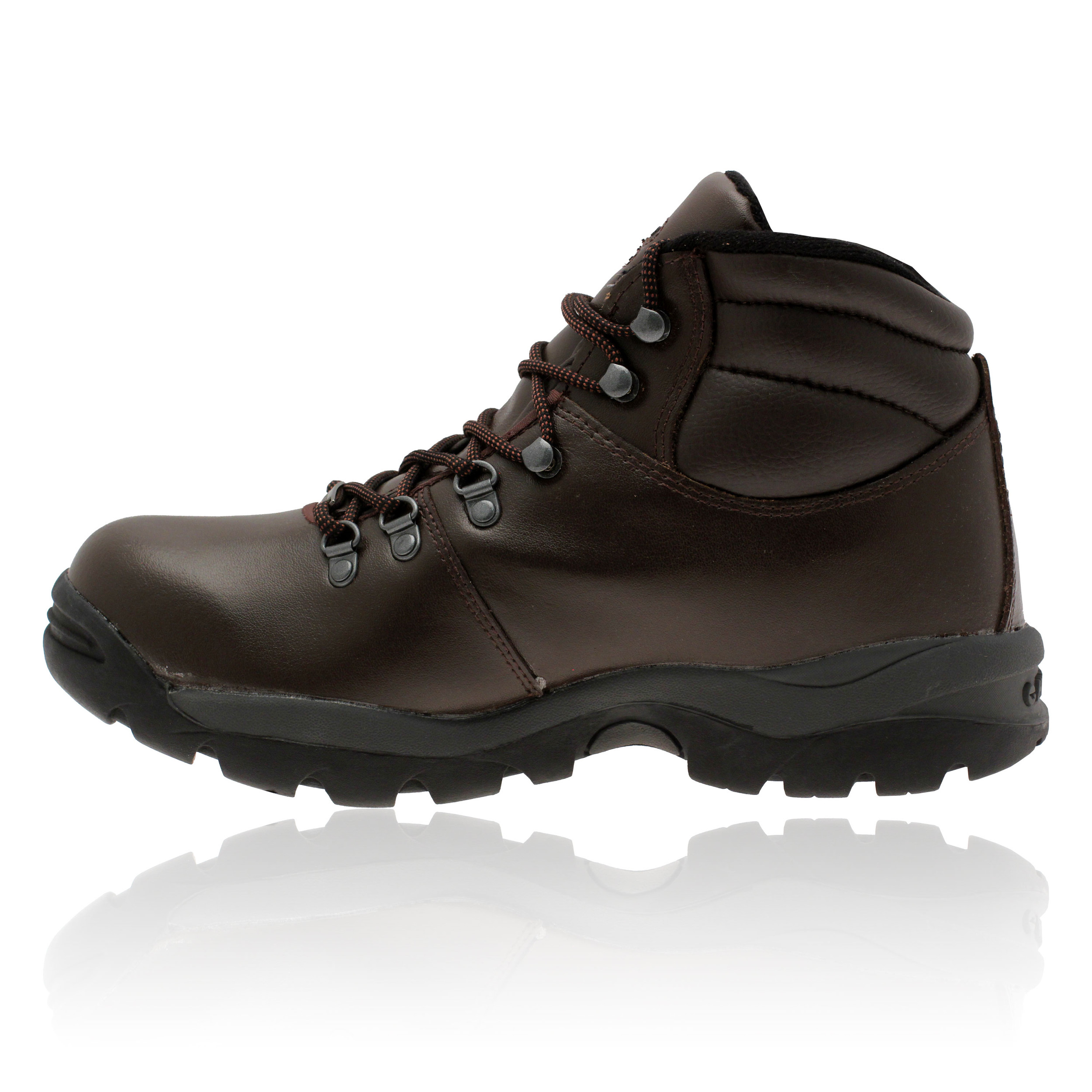 hi tec womens brown waterproof eurotrek walking hiking