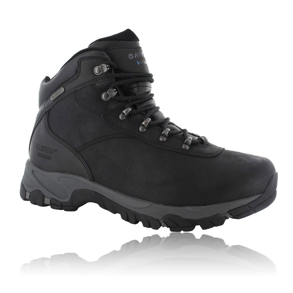 hi tec mens altitude v i black waterproof outdoors walking