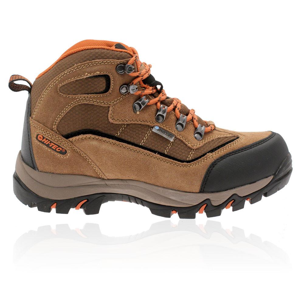 hi tec mens keswick brown waterproof outdoors trail