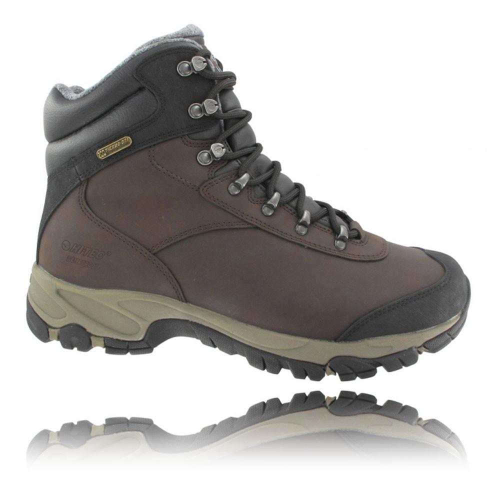 hi tec altitude v200 mens brown waterproof outdoors hiking
