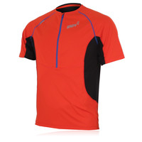Inov8 Base Elite 160 Short Sleeve Half Zip Running T-Shirt - AW14
