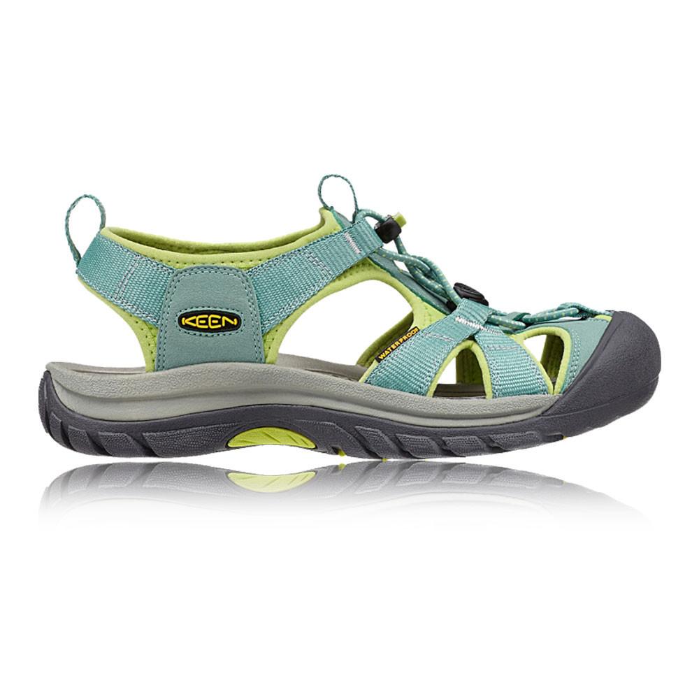 keen venice h2 damen trekking sandalen wanderschuhe wasserdicht schuhe gelb gr n ebay. Black Bedroom Furniture Sets. Home Design Ideas