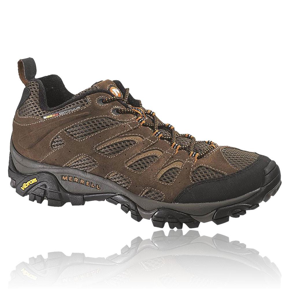 merrell mens moab ventilator brown outdoors sneakers