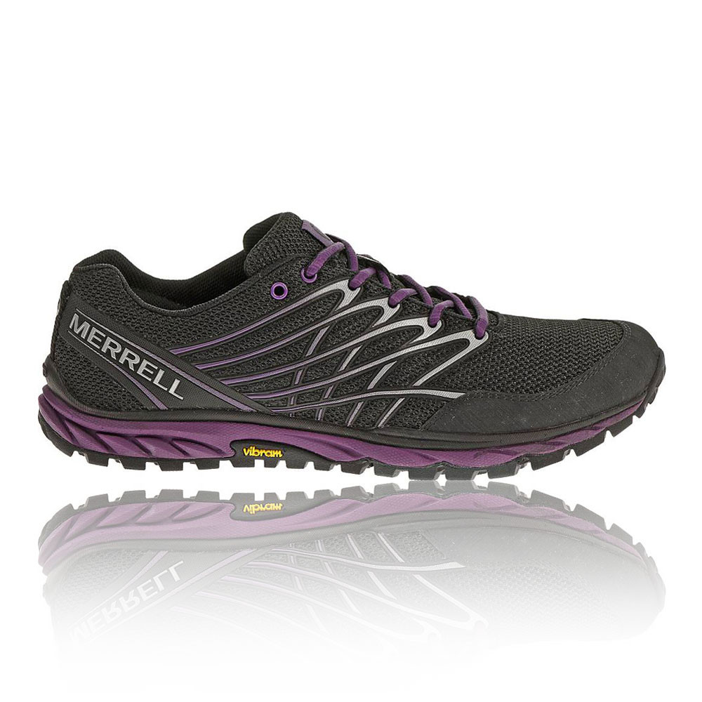merrell bare access black trail running road walking