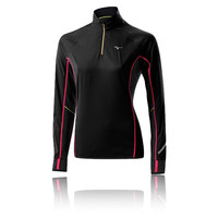 Mizuno Breath Thermo Women's Windproof Long Sleeve Half Zip Running Top