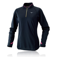 Mizuno Breath Thermo Women's Long Sleeve Half Zip Running Top