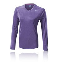 Mizuno Drylite Core Women's Long Sleeve Running Top - AW14
