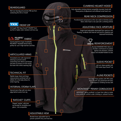 Montane Fast Alpine Stretch Neo Outdoor Jacket picture 4