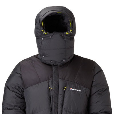 A down jacket