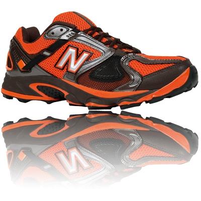 Men's New Balance^ 710v2 Trail Running Shoes, Black / Green