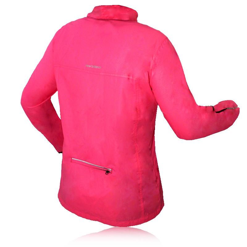 New Balance Lady Hi-Viz Running Jacket
