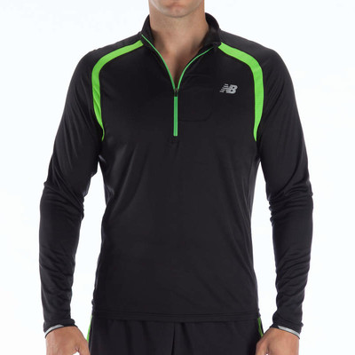 New Balance Impact Half Zip Long Sleeve Running Top picture 1