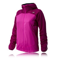 New Balance Sequence Women's Hooded Running Jacket - AW14