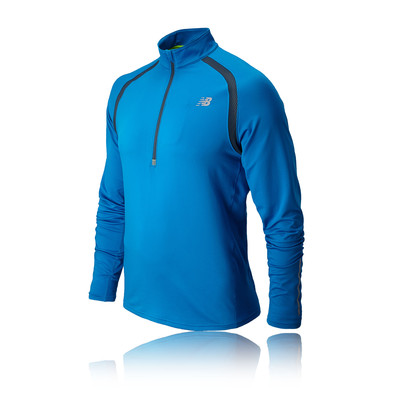 New Balance Impact Half Zip Long Sleeve Running Top - AW14 picture 1